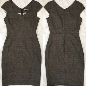 H&M Gray Plaid Dress Size 6